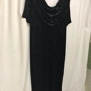 Velvet formal dress